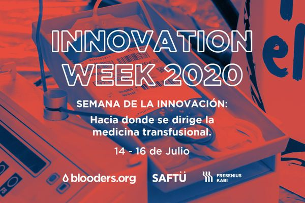 Innovation Week 2020 by Fresenius Kabi, Saftu y Blooders